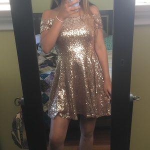 Lulus sequin dress